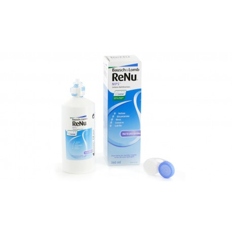 ReNu MPS Multi-Purpose Contact Lens Solution 360 ml and Lens Case