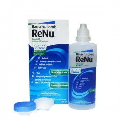 ReNu MultiPlus Contact Lens Solution 120 ml + Lens Case