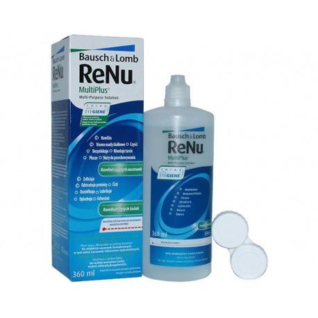 ReNu MultiPlus Contact Lens Solution 360 ml + Lens Case