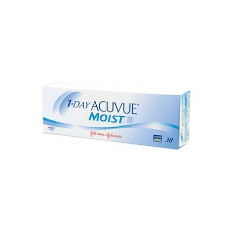 1-Day Acuvue MOIST 30 tk/pk