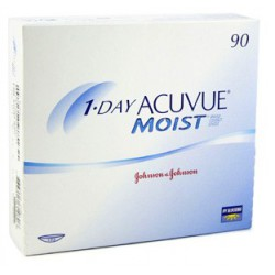 1-Day Acuvue MOIST 90 Lenses/Box