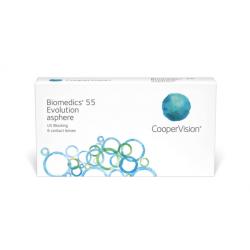 Biomedics 55 1 Lens