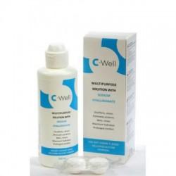 C-Well läätsevedelik 360 ml