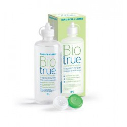 Biotrue Multi-Purpose Contact Lens Solution 120 ml + Lens Case